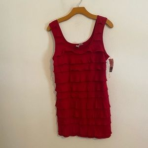 NWT LOVE ON A HANGER RED DRESS SIZE XL